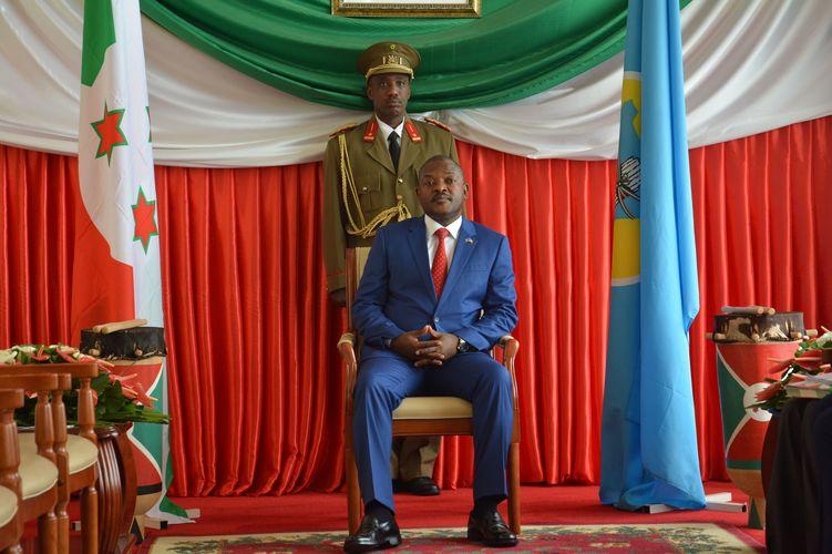 Burundi Präsident Pierre Nkurunziza