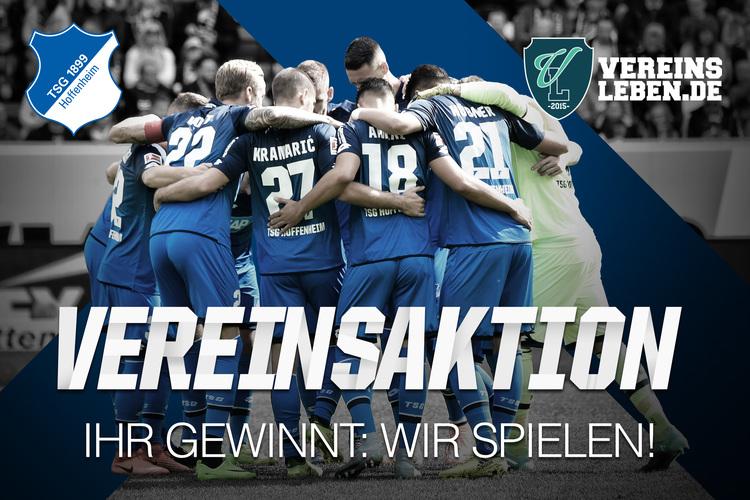 Vereinsaktion TSG Hoffenheim