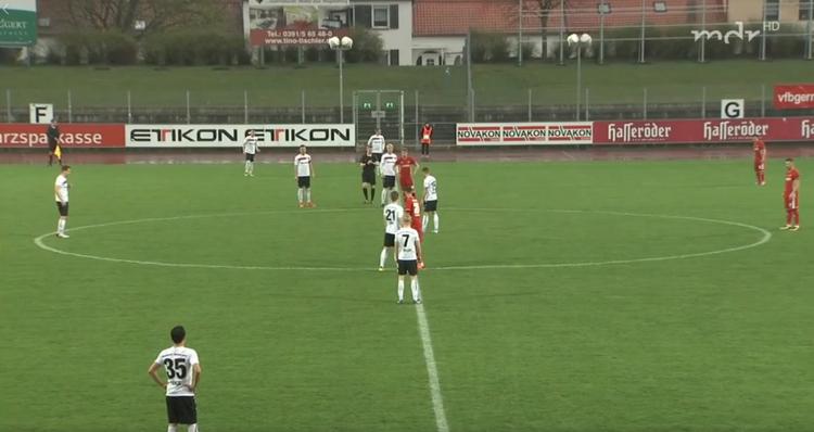 VfB Halberstadt gegen Budissa Bautzen