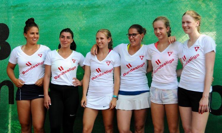 Damenkader der zweiten Bundesliga TSC Mainz