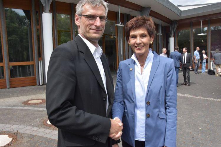 Lutz Thieme und Karin Augustin