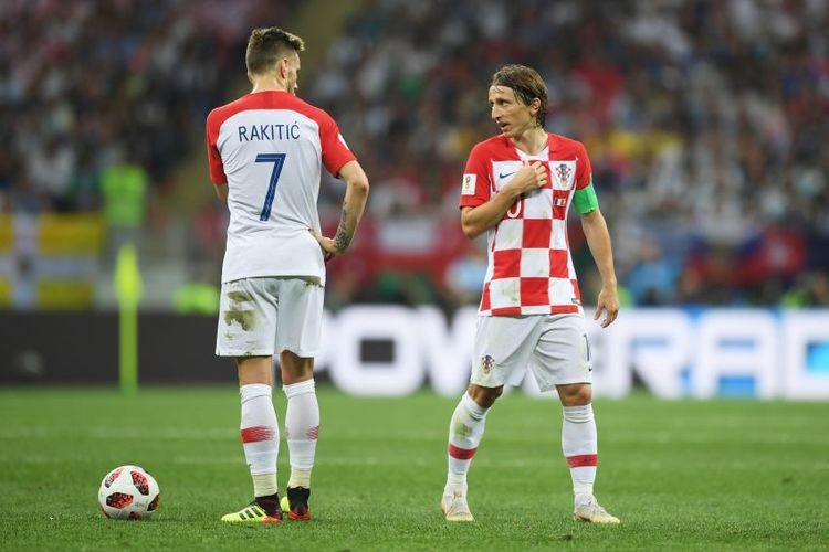 Luka Modric und Ivan Rakitic spielen für Kroatien