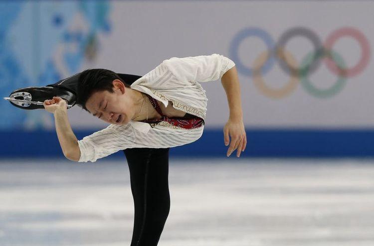 Eiskunstläufer Dennis Ten