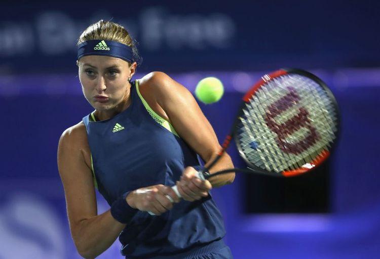 Tennisspielerin Kristina Mladenovic