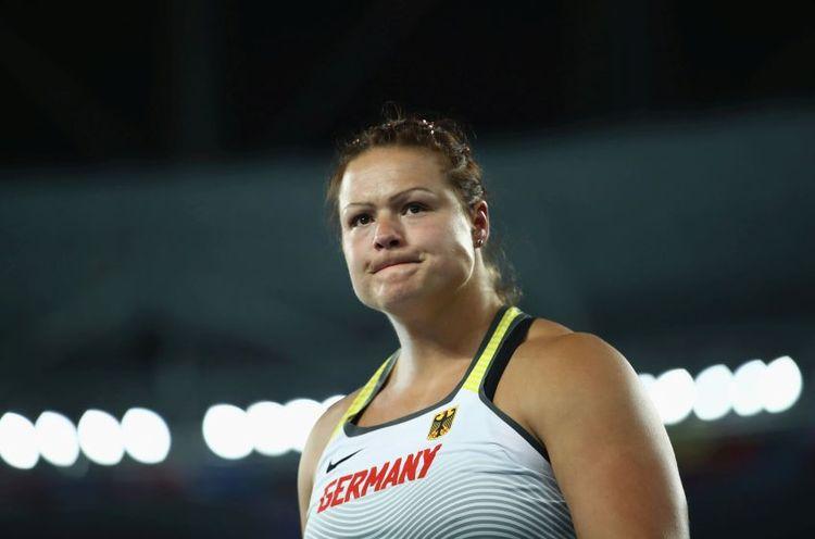 Christina Schwanitz bei der Leichtathletik-EM in Berlin